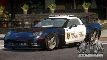 Chevrolet Corvette LS Police pour GTA 4