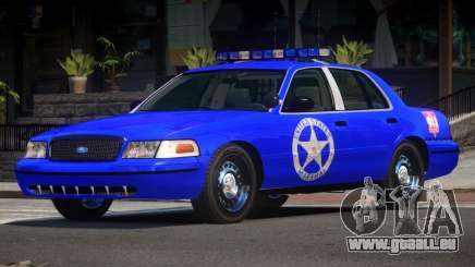 Ford Crown Victoria USM Police pour GTA 4