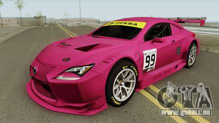 Lexus RC-F GT3 (RHA) für GTA San Andreas