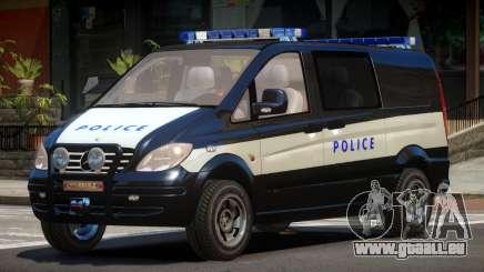 Mercedes Benz Vito Police pour GTA 4