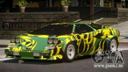 1985 Lamborghini Countach LP500 QV PJ1 pour GTA 4