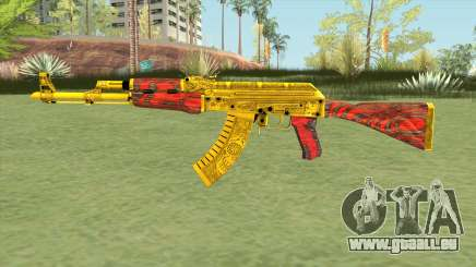 AKM (Gold Cartel) V2 pour GTA San Andreas