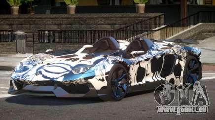 Lamborghini Aventador Spider SR PJ6 pour GTA 4