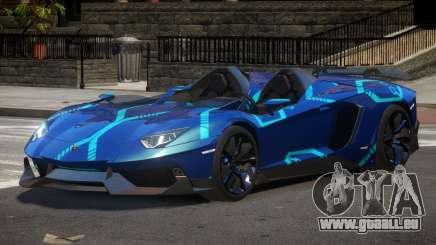 Lamborghini Aventador Spider SR PJ2 pour GTA 4