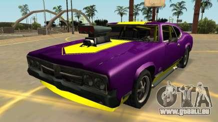 Declasse Sabre Turbo (Abzeichen & Extras) für GTA San Andreas