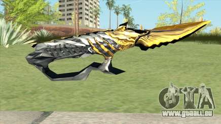 Knife (Born Beast Noble Gold) für GTA San Andreas
