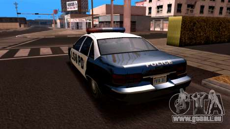 Chevrolet Caprice 1993 LSPD SA Style pour GTA San Andreas