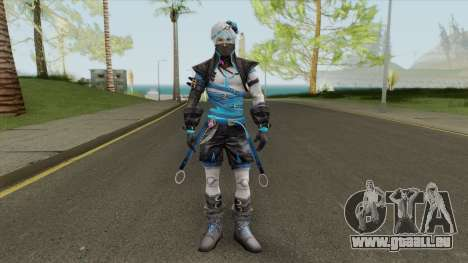 Artic Blue (Free Fire) pour GTA San Andreas