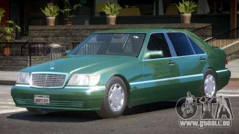 Mercedes Benz W140 S600 V1.0 pour GTA 4