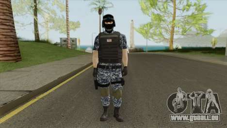 Navy Army Soldier pour GTA San Andreas