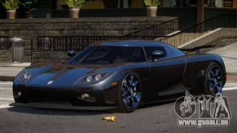 Koenigsegg CCXR TI pour GTA 4