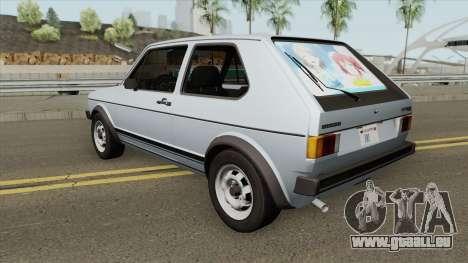 Volkswagen Golf GTI MKI (RHA) für GTA San Andreas