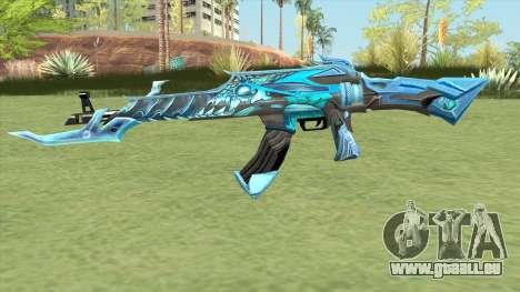AK-47 (Unicorn Ice) pour GTA San Andreas
