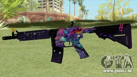 M4A4 (Glass Queen) pour GTA San Andreas