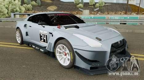 Nissan GTR Nismo GT3 pour GTA San Andreas