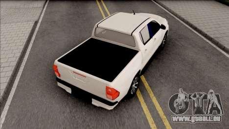 Toyota Hilux Revo Rocco 2019 pour GTA San Andreas