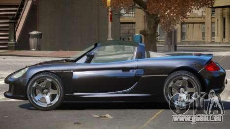 Porsche Carrera GT V1.3 pour GTA 4