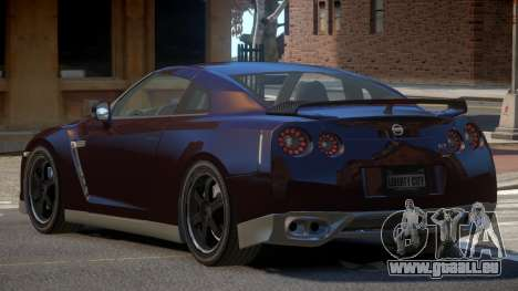 Nissan GTR R35 ZT pour GTA 4