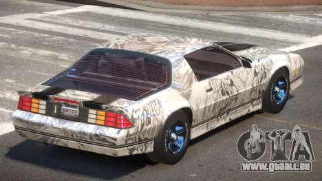Chevrolet Camaro IR PJ6 pour GTA 4