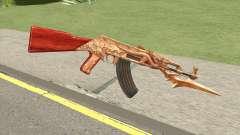 AK47 Dragon pour GTA San Andreas