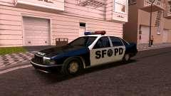 Chevrolet Caprice 1993 SFPD SA-Stil