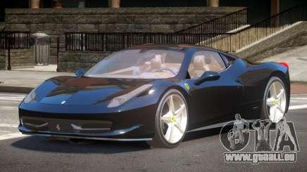 Ferrari 458 JF pour GTA 4