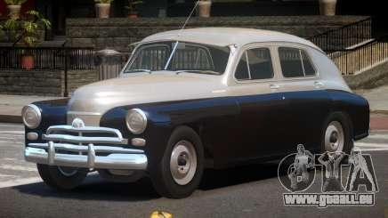 1955 GAZ M20V pour GTA 4