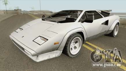 Lamborghini Countach LP400S 1978 pour GTA San Andreas