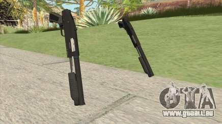 Sawed-Off Shotgun GTA V (Black) pour GTA San Andreas