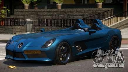 Mercedes Benz SLR Custom für GTA 4