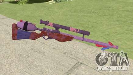 Stylized Dart Sniper pour GTA San Andreas