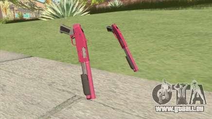 Sawed-Off Shotgun GTA V (Pink) pour GTA San Andreas
