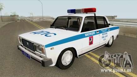 VAZ 2105 DPS (Police de Moscou) pour GTA San Andreas