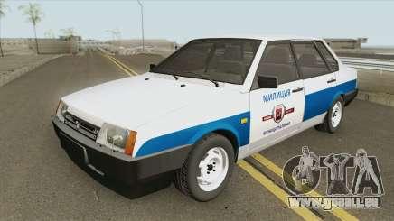 VAZ 21099 (Police Municipale) pour GTA San Andreas