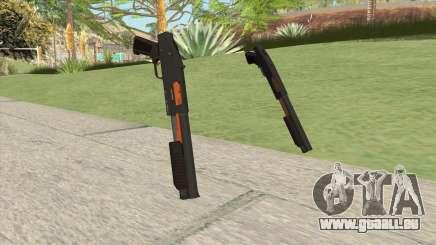 Sawed-Off Shotgun GTA V (Orange) pour GTA San Andreas