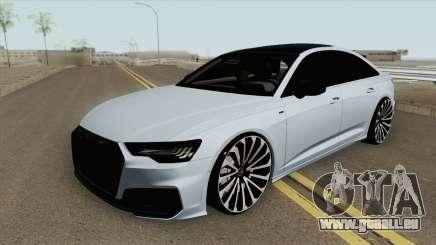 Audi A6 C8 (S-Line) pour GTA San Andreas