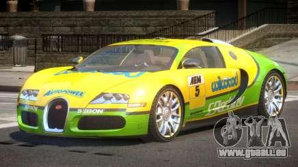 Bugatti Veyron 16.4 S-Tuned PJ4 für GTA 4