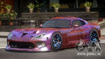 Dodge Viper SRT L-Tuning PJ6 pour GTA 4