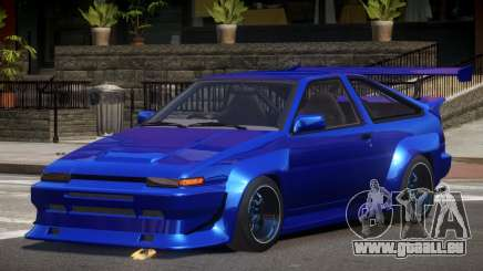 Toyota Corolla GT S-Tuning für GTA 4