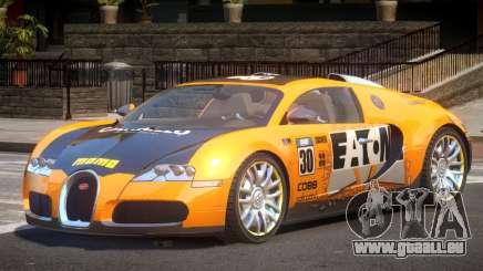 Bugatti Veyron 16.4 S-Tuned PJ5 für GTA 4