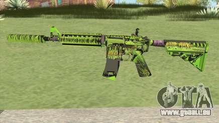 M4A4 Toxicator (CS:GO) für GTA San Andreas