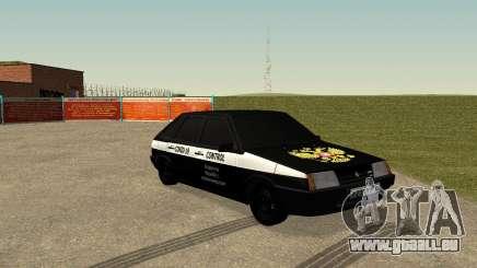 2109 COVID-19 CONTRÔLE pour GTA San Andreas