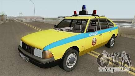 21418 AZLK Moskwitsch (GAI) 1987 für GTA San Andreas