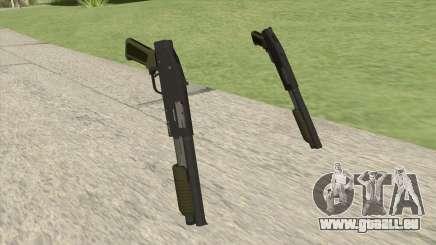 Sawed-Off Shotgun GTA V (Green) pour GTA San Andreas
