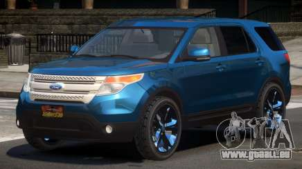 Ford Explorer RGT für GTA 4