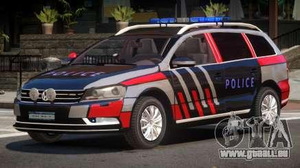 Volkswagen Passat UL Police für GTA 4