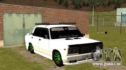 VAZ 2107-Tuning-Kolchose für GTA San Andreas