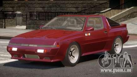 Mitsubishi Starion SR für GTA 4