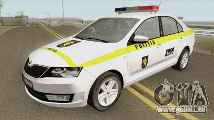 Skoda Rapid (Politia Republica Moldova) 2016 pour GTA San Andreas