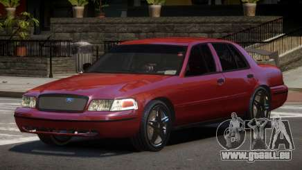 Ford Crown Victoria R-Tuned pour GTA 4